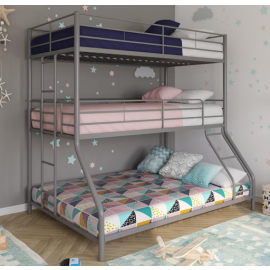 DHP Metal Triple Bunk Bed