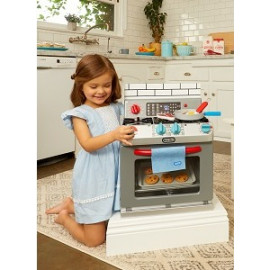 Little Tikes Kid's First Oven Realistic Pretend Play Appliance