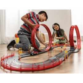 Electric Slot Car Race Track Set Kids Toy