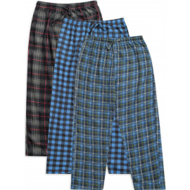 3-Pack Men's Fleece Pajama Pants