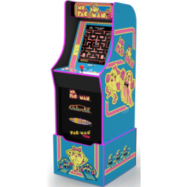 Arcade1Up Ms Pacman Arcade Machine w/ Riser
